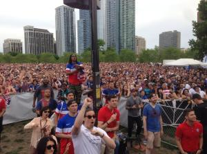 Soccer watch party Chicago