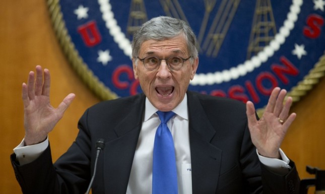 "FCC Chairman Tom Wheeler - ""This Net Neutrality bill is this big."""