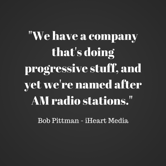 %22We have a company that's doing progressive stuff, and yet we're named after AM radio stations.%22