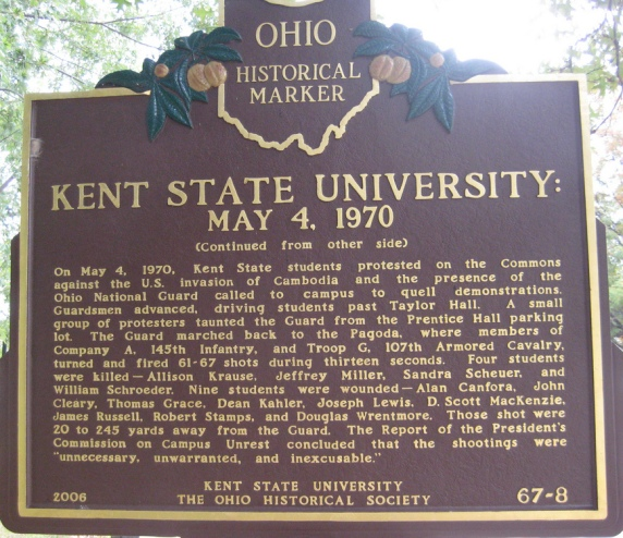 Kent State Marker